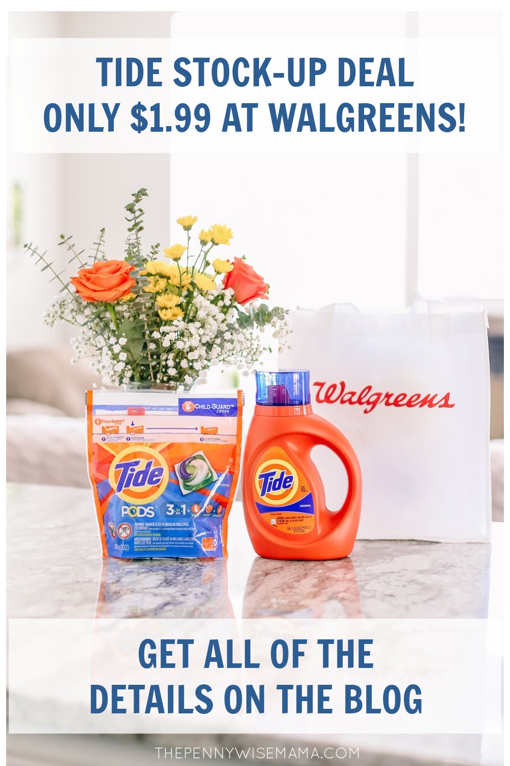 Now is a great time to stock up on Tide laundry detergent at Walgreens! Through 6/19, you can score Tide liquid detergent or Tide PODS for as low as $1.99 each! I'm sharing all of the details on the blog.