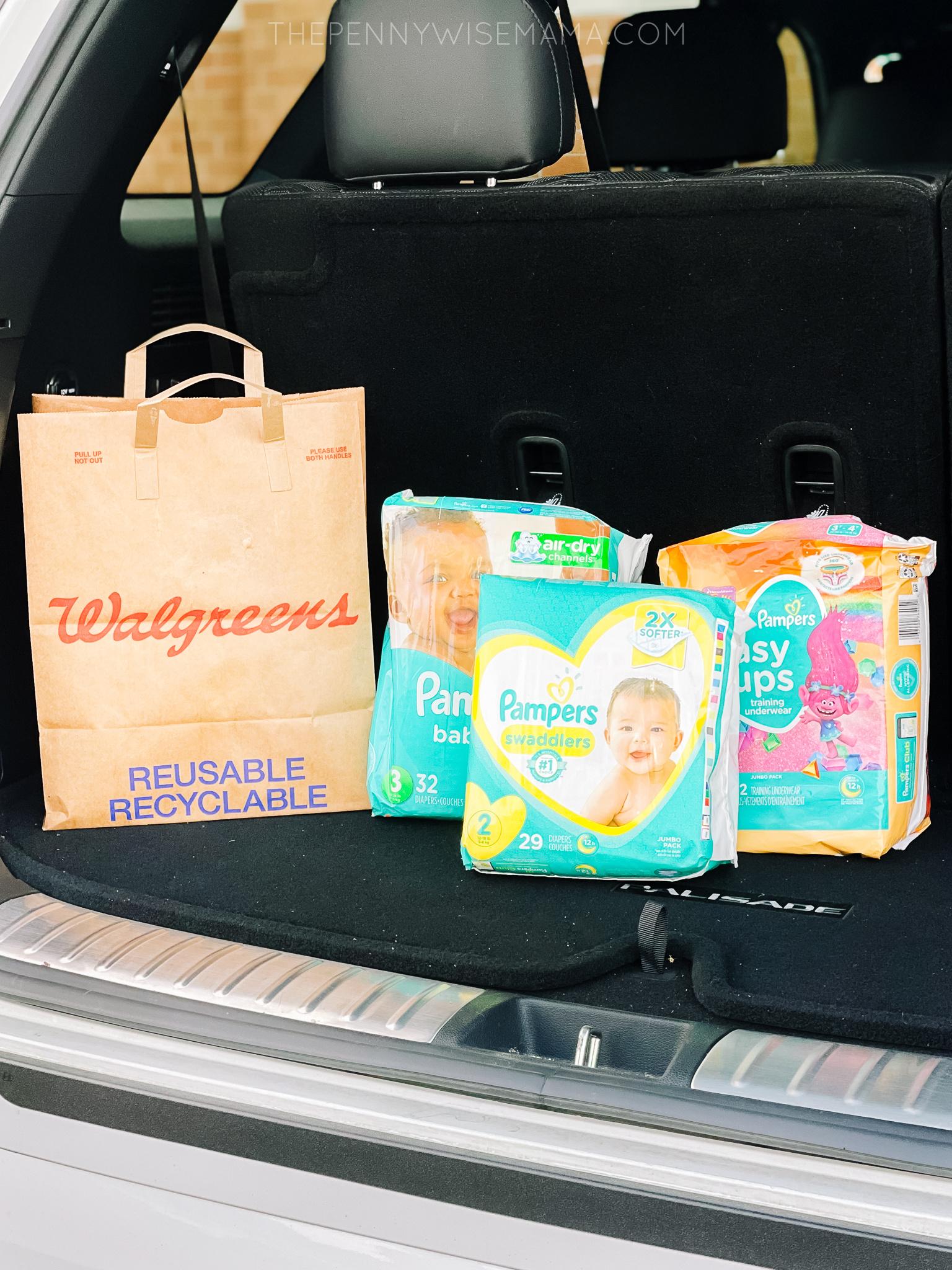 Save Big on Pampers at Walgreens this Week!