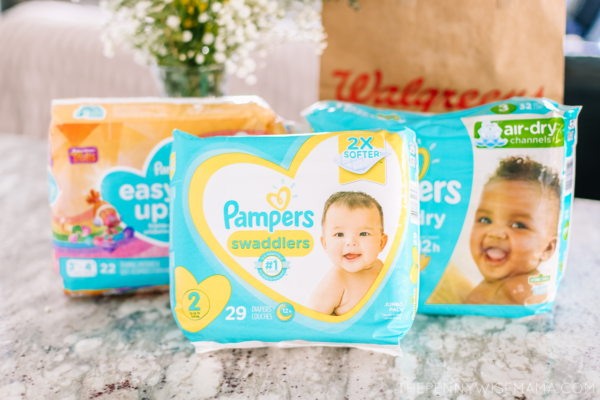 Pampers Diapers Deal at Walgreens