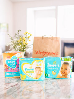 Pampers Diapers Deal - UnderOnly $6 at Walgreens This Week!